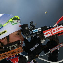 IBU world cup biathlon, sprint women, Antholz (ITA)